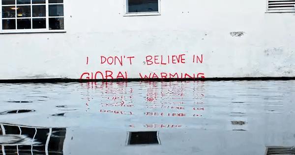 Banksy-地球温暖化