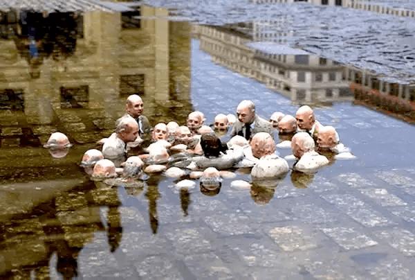 彫刻家アイザック・コーダル-温暖化