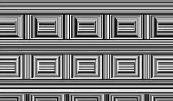 目の錯覚絵-円