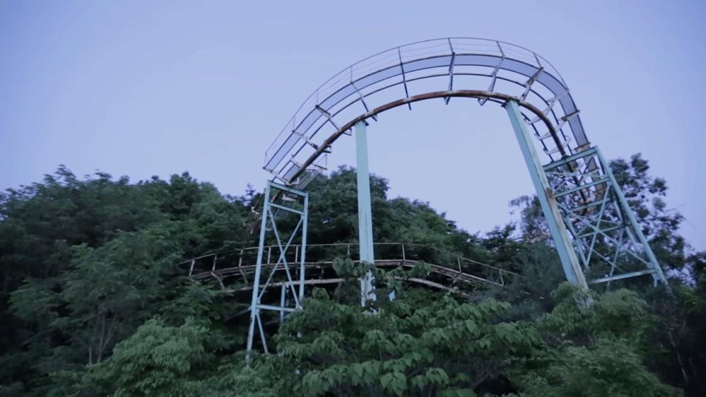 奈良ドリームランド-ジェットコースター