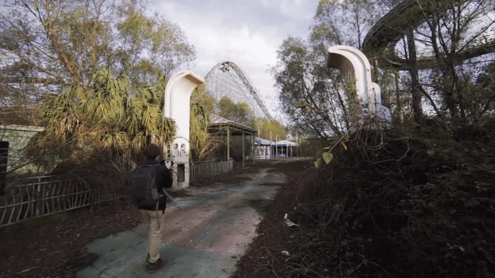 奈良ドリームランド-侵入-探索