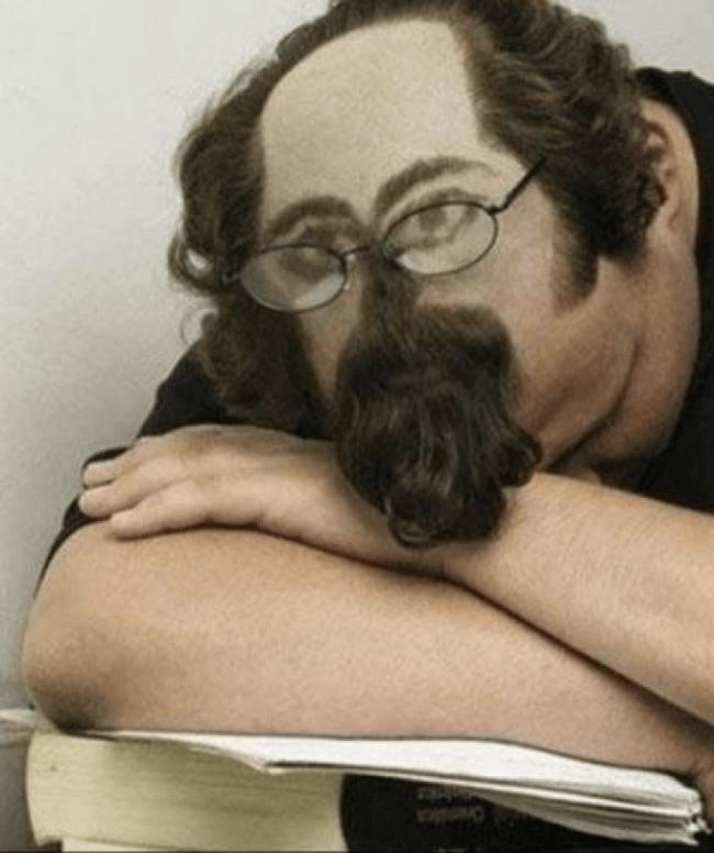 授業中に寝ていても平気な髪型