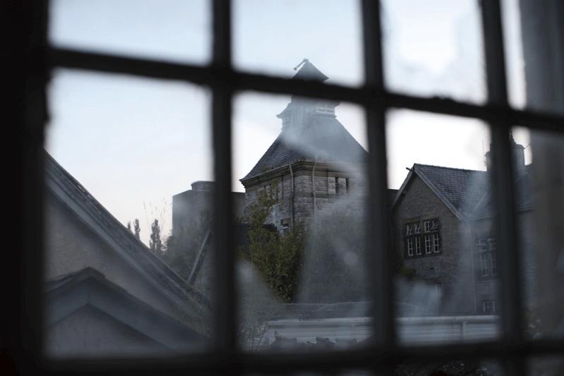 ウェールズの精神病院-廃墟
