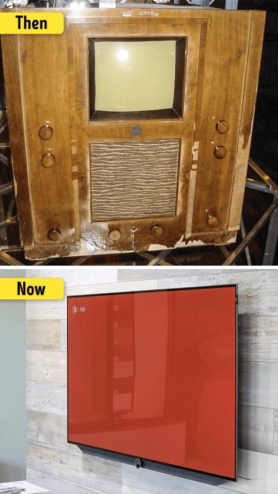 テレビの変化