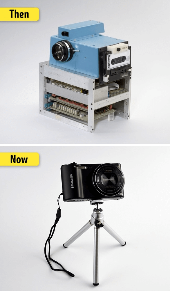 昔のデジタルカメラ-進化