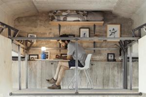 ガード下の秘密の仕事場