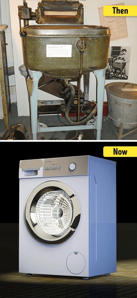 洗濯機の進化