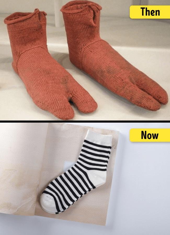 ソックスの進化