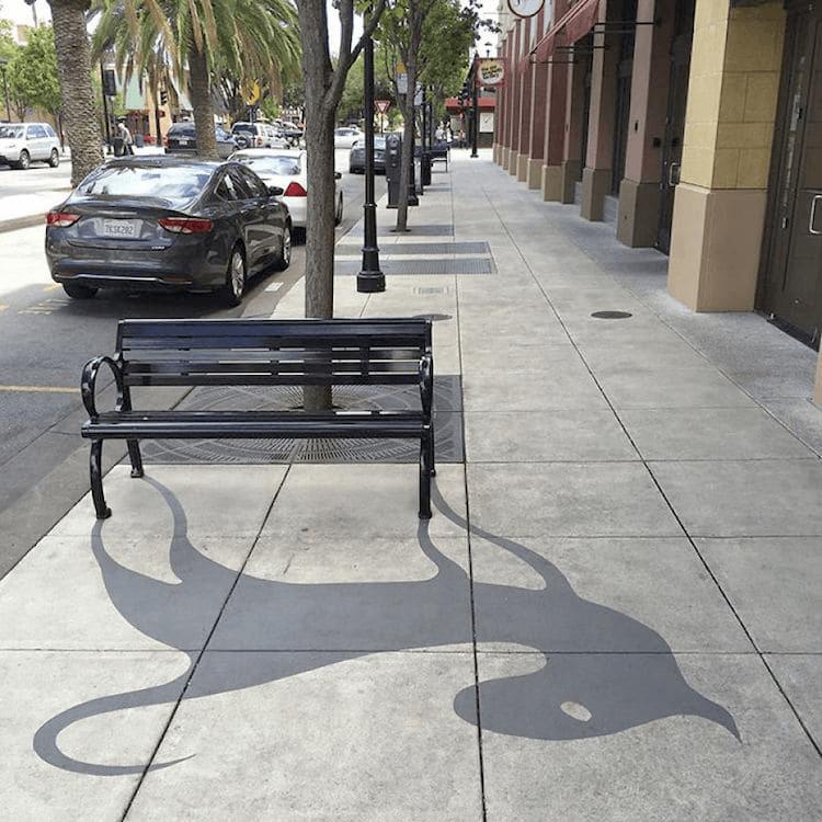 影のデザインアート-カリフォルニア