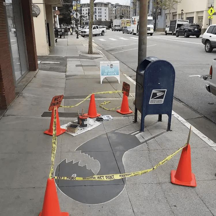 影のアート-カリフォルニア-レッドウッドシティ