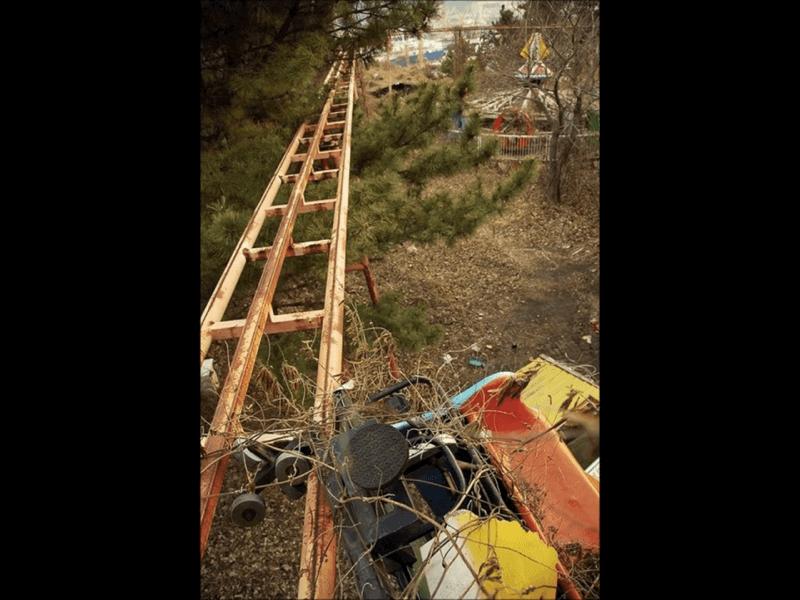 廃墟遊園地-韓国のオクポランド
