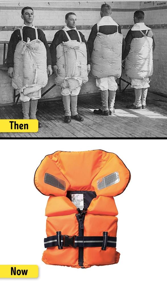 ライフジャケットの進化
