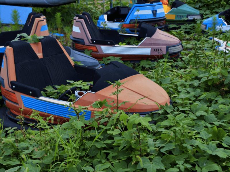 ボート-遊園地オクポランド