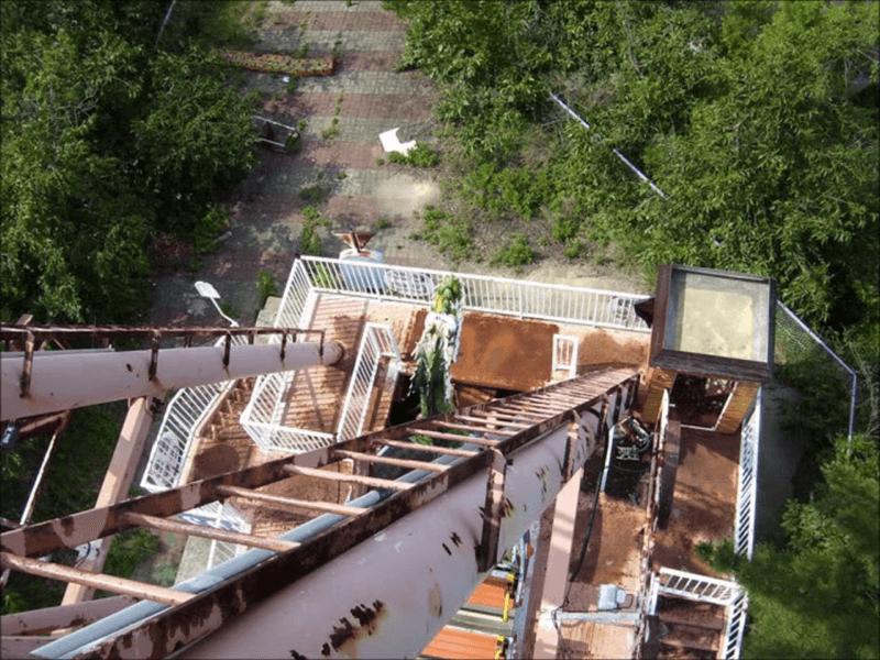 オクポランドの廃墟写真