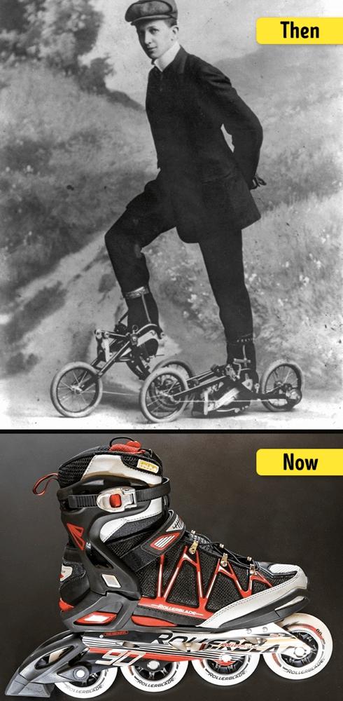 ローラースケートの進化・変化