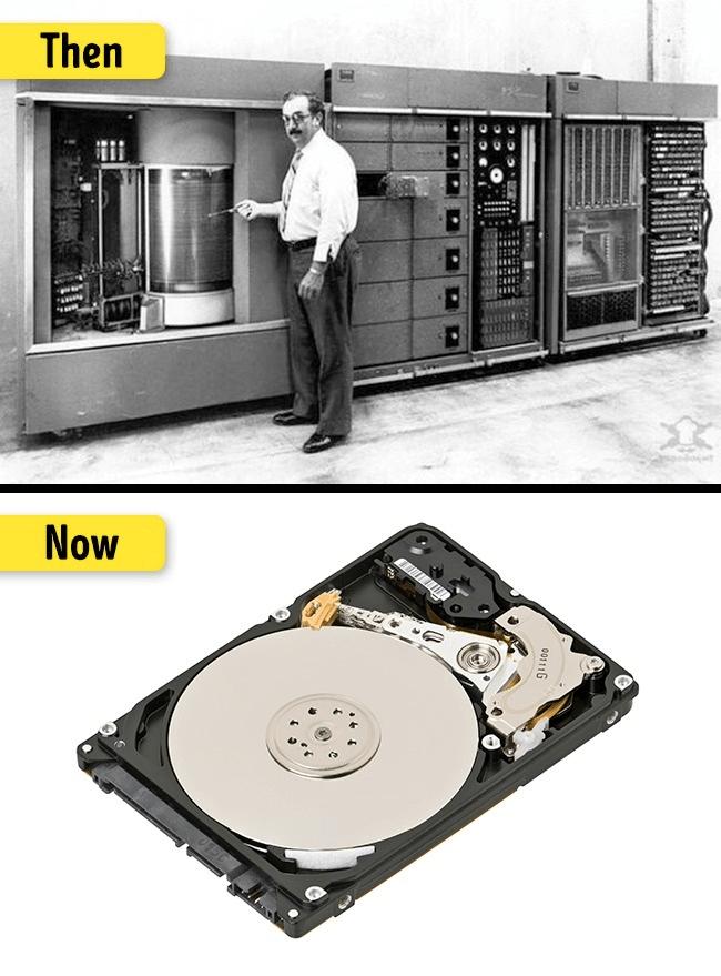 ハードディスクの変化・進化