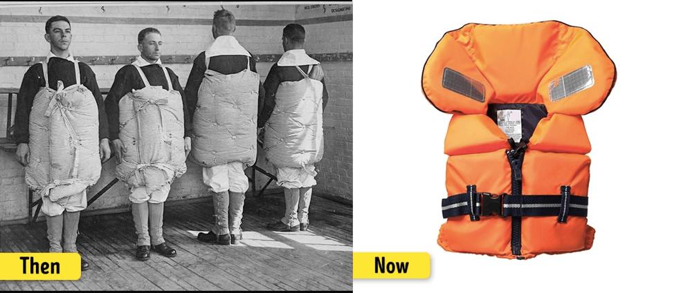 ライフジャケットの進化・変化