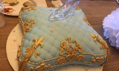 シンデレラのケーキ