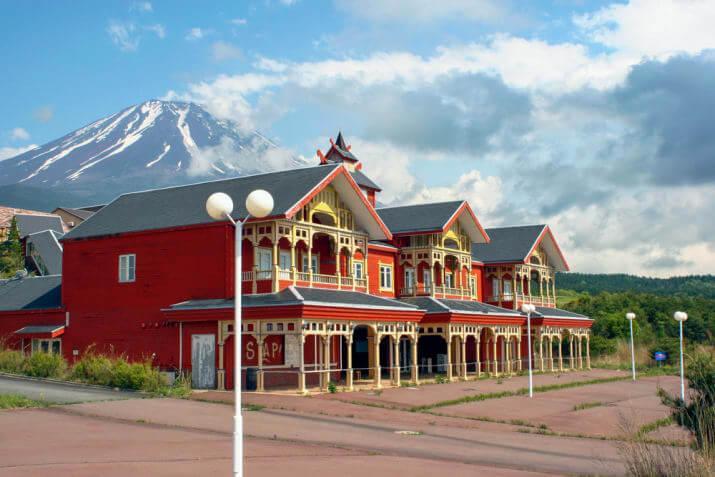 富士ガリバー王国の中