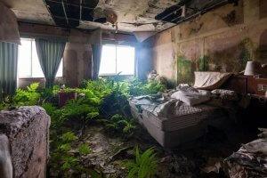 八丈オリエンタルリゾートの寝室