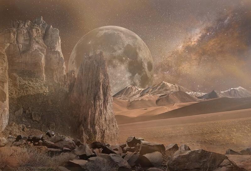 火星の大地