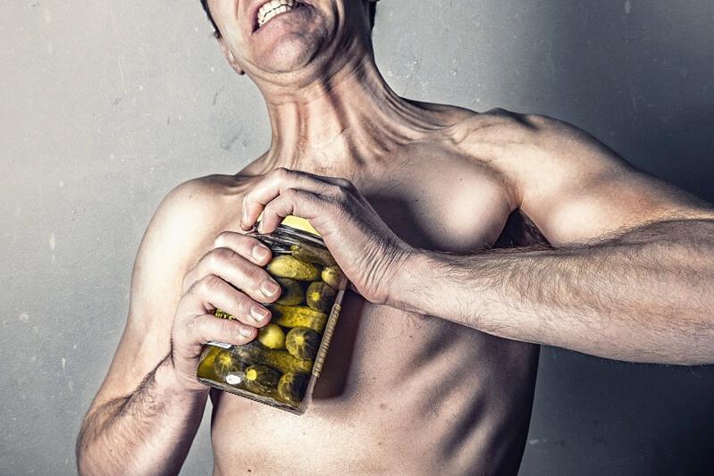 筋肉の衰え