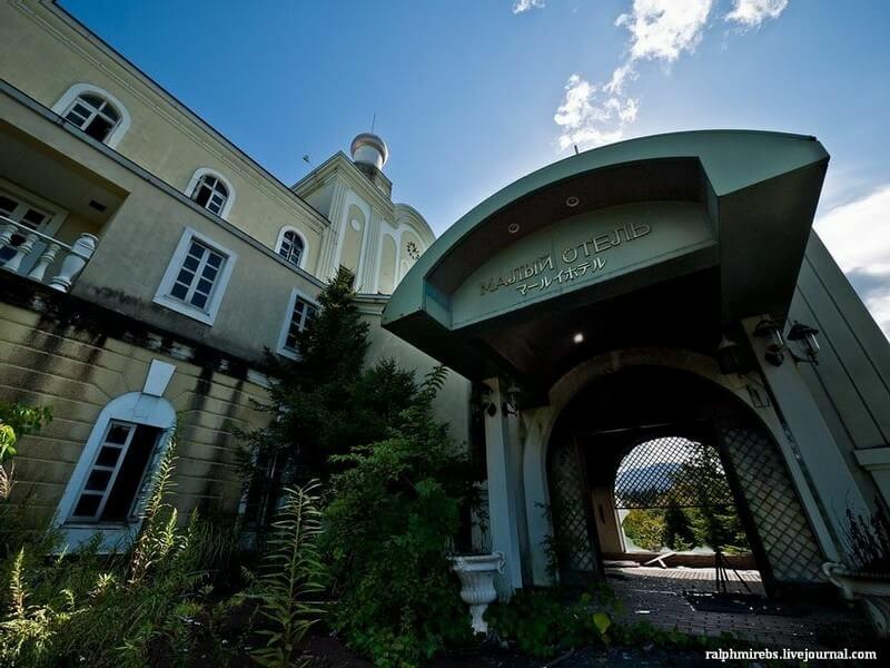 新潟ロシア村のホテル