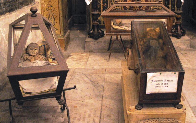 ロザリア・ロンバルドの棺