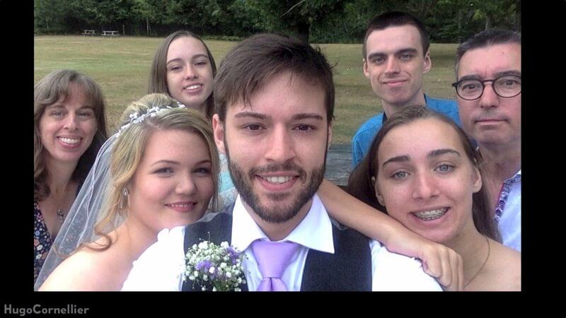 結婚するまで自撮り写真した男