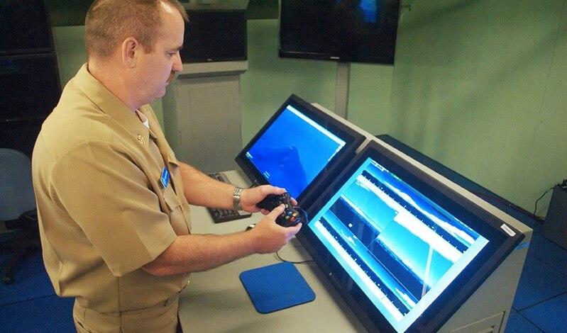 潜望鏡の操作にXboxのコントローラーを使い始める