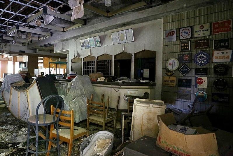 鬼怒川温泉ホテルの廃墟-カッパ風呂ホテル