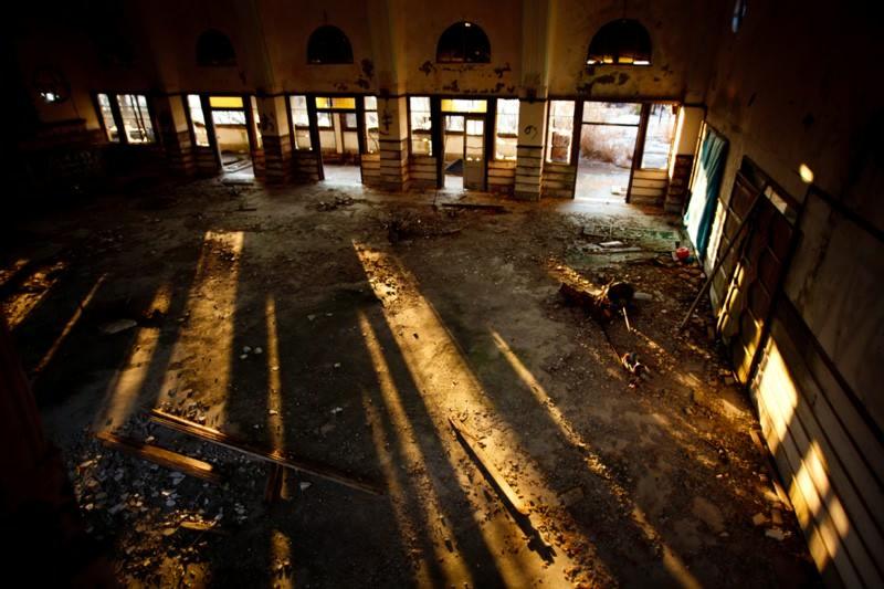 摩耶観光ホテルのホール