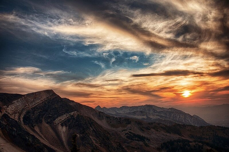 ユタ州-砂漠