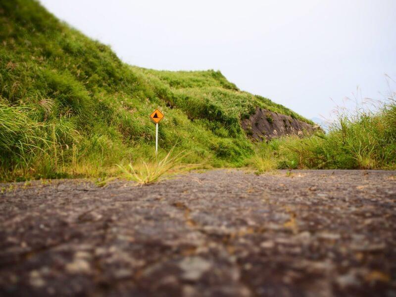 通行止めのラピュタの道