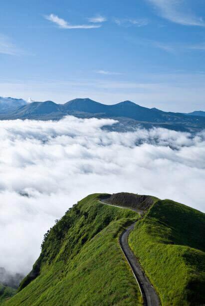 ラピュタの道と雲