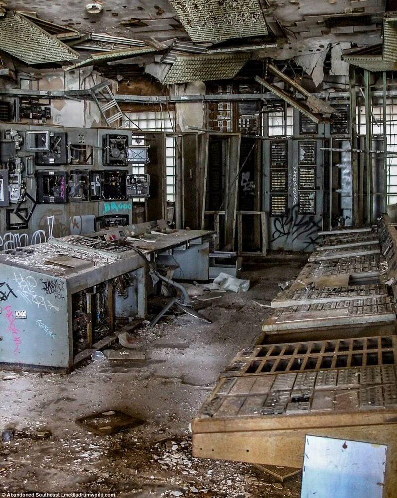 ニューオーリンズの廃発電所