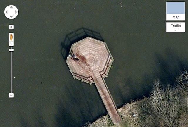 グーグルマップ-怖い写真
