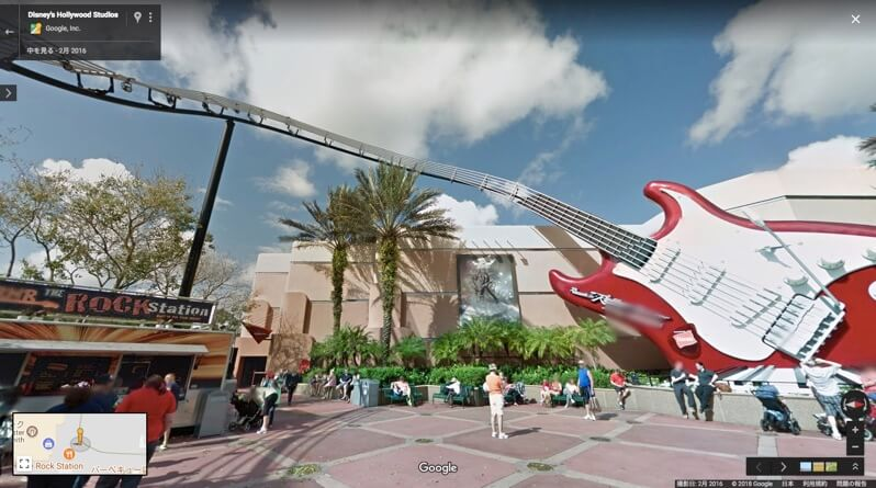 Disney s Hollywood Studios Googlemap