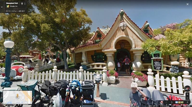 Disneyland Park googlemap