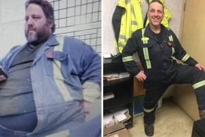 147キロのダイエットに成功した男性