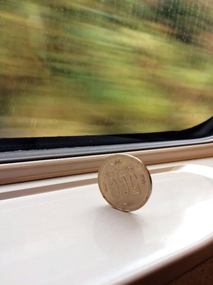 新幹線がめっちゃ安定してる。