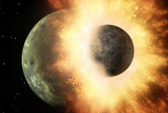 惑星の衝突