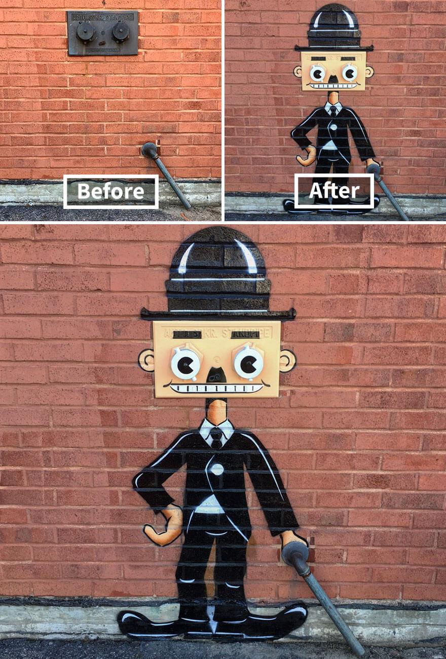トム・ボブのストリートアート11
