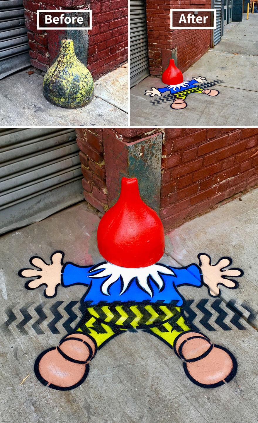 トム・ボブのストリートアート16