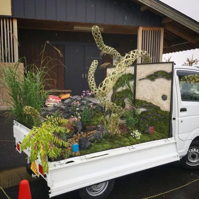 軽トラック-ガーデン