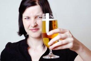 ビールが苦手な女性