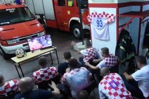 クロアチアの消防隊