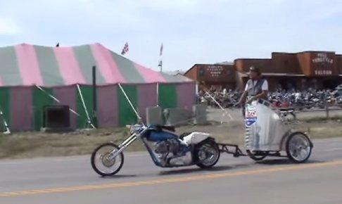 モーターサイクル・チャリオットレースのバイク