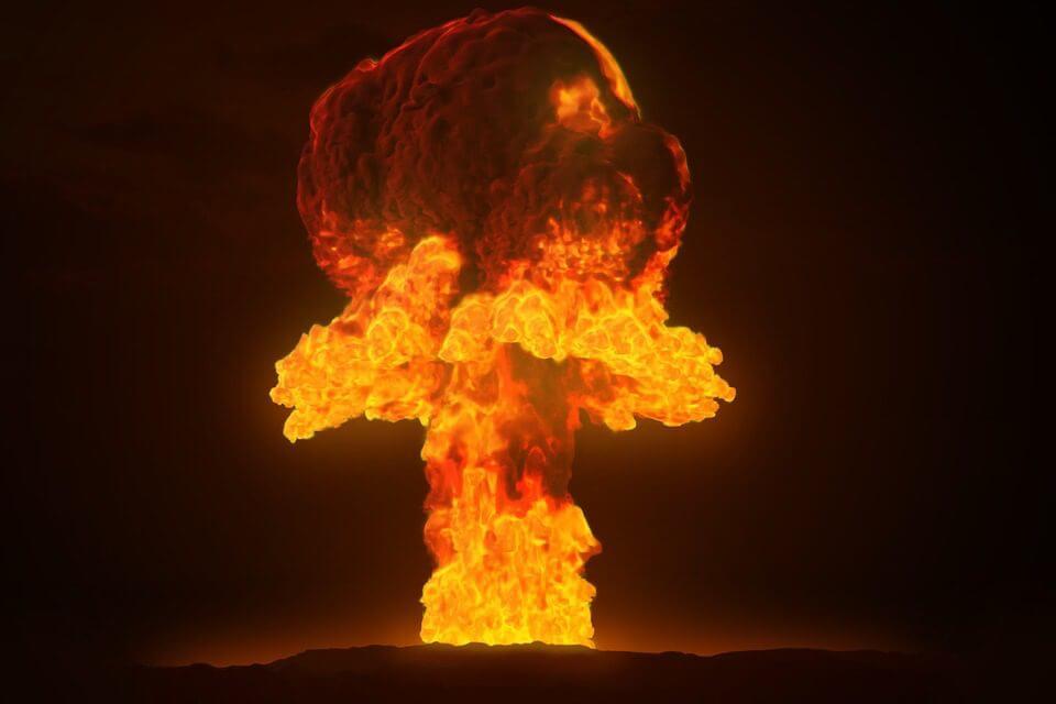 放射線爆発