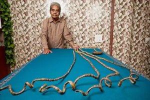 世界一爪が長い人-スリドハー・チラル
